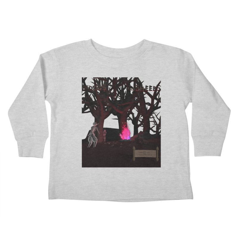 Of Dogs and Sheeps (Titled) Kids Toddler Longsleeve T-Shirt by CIULLO CORPORATION's Artist Shop