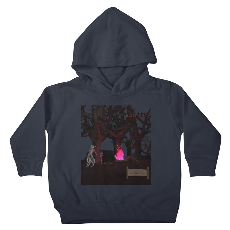 Of Dogs and Sheeps (Titled) Kids Toddler Pullover Hoody by CIULLO CORPORATION's Artist Shop