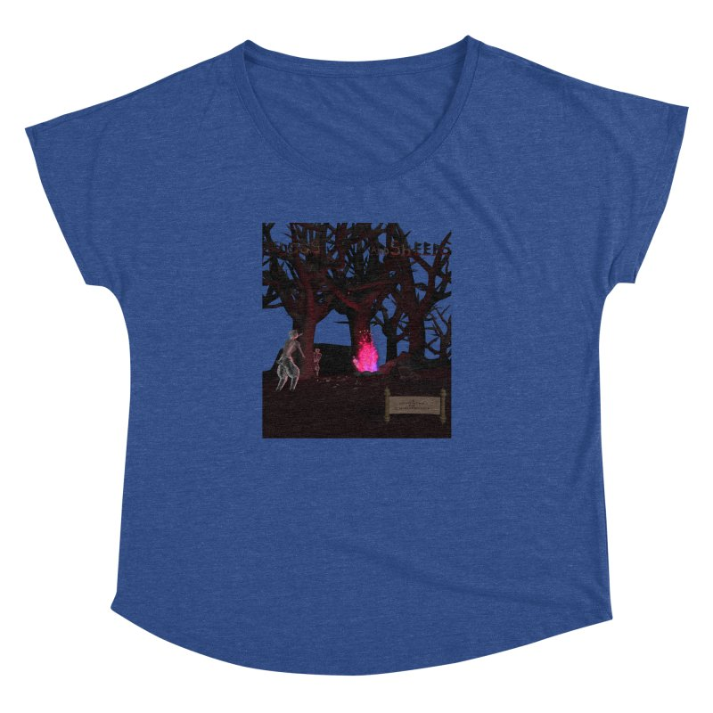 Of Dogs and Sheeps (Titled) Women's Dolman by CIULLO CORPORATION's Artist Shop