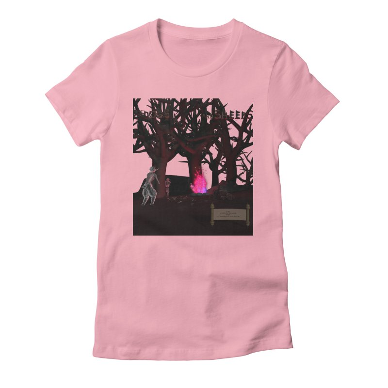 Of Dogs and Sheeps (Titled) Women's Fitted T-Shirt by CIULLO CORPORATION's Artist Shop
