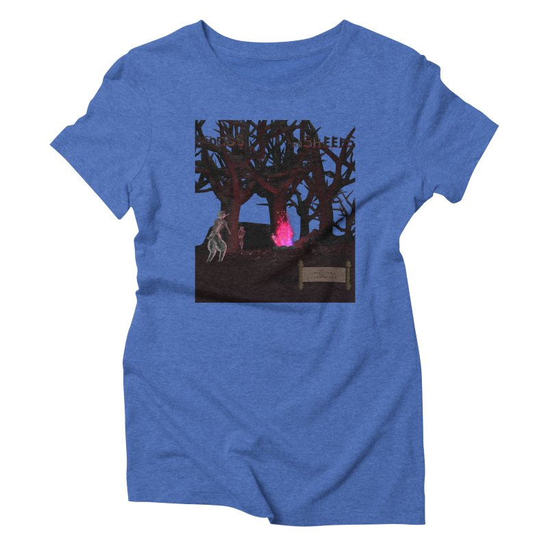 Of Dogs and Sheeps (Titled) Women's Triblend T-Shirt by CIULLO CORPORATION's Artist Shop