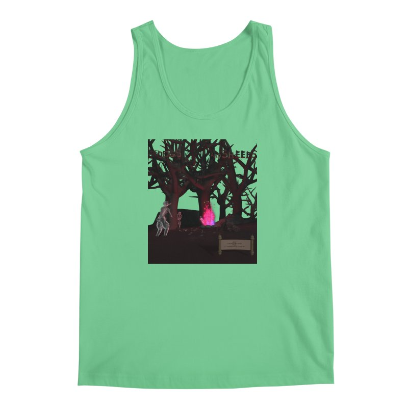 Of Dogs and Sheeps (Titled) Men's Tank by CIULLO CORPORATION's Artist Shop