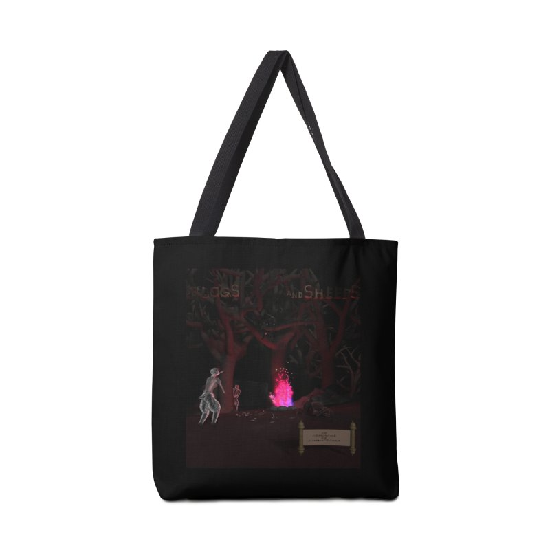 Of Dogs and Sheeps (Titled) Accessories Bag by CIULLO CORPORATION's Artist Shop