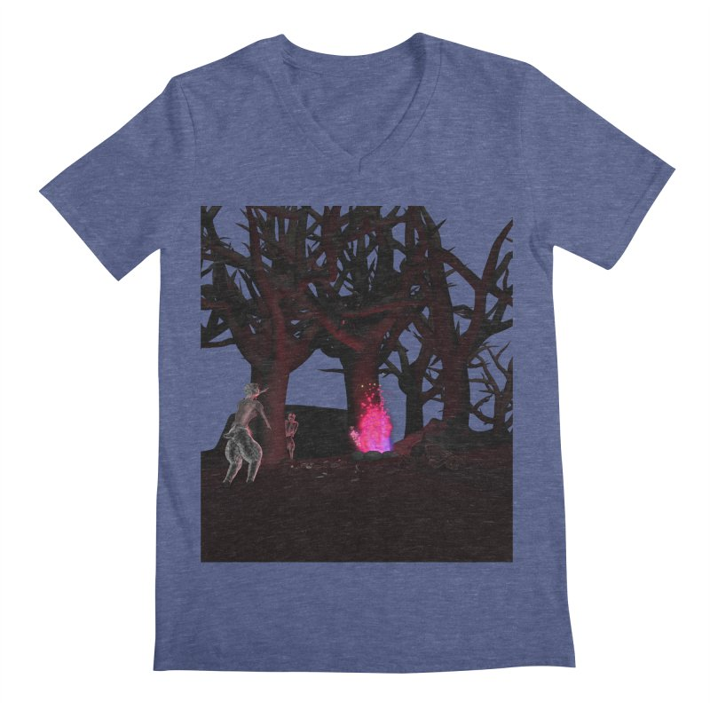 Of Dogs and Sheeps Men's V-Neck by CIULLO CORPORATION's Artist Shop