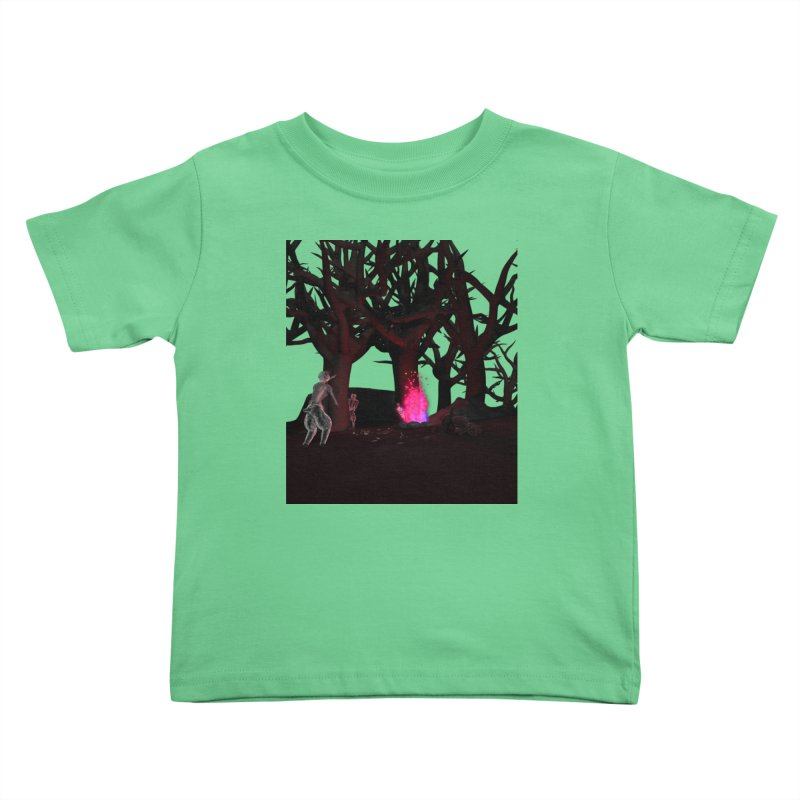 Of Dogs and Sheeps Kids Toddler T-Shirt by CIULLO CORPORATION's Artist Shop