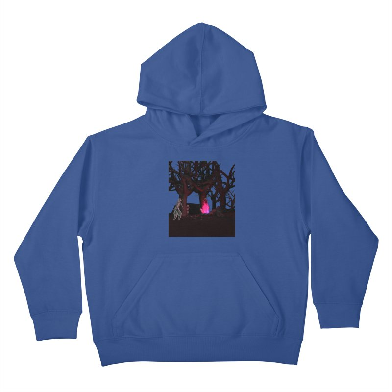Of Dogs and Sheeps Kids Pullover Hoody by CIULLO CORPORATION's Artist Shop