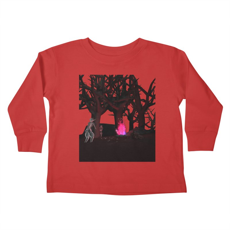 Of Dogs and Sheeps Kids Toddler Longsleeve T-Shirt by CIULLO CORPORATION's Artist Shop