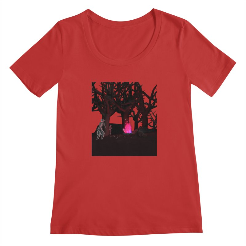 Of Dogs and Sheeps Women's Scoopneck by CIULLO CORPORATION's Artist Shop