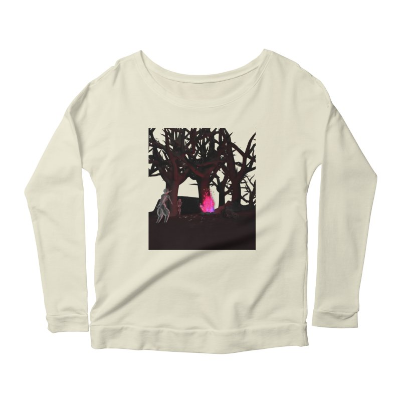 Of Dogs and Sheeps Women's Longsleeve Scoopneck  by CIULLO CORPORATION's Artist Shop