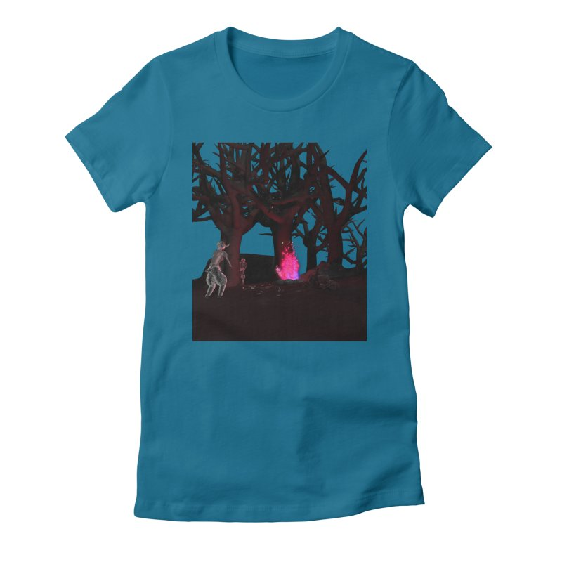 Of Dogs and Sheeps Women's Fitted T-Shirt by CIULLO CORPORATION's Artist Shop