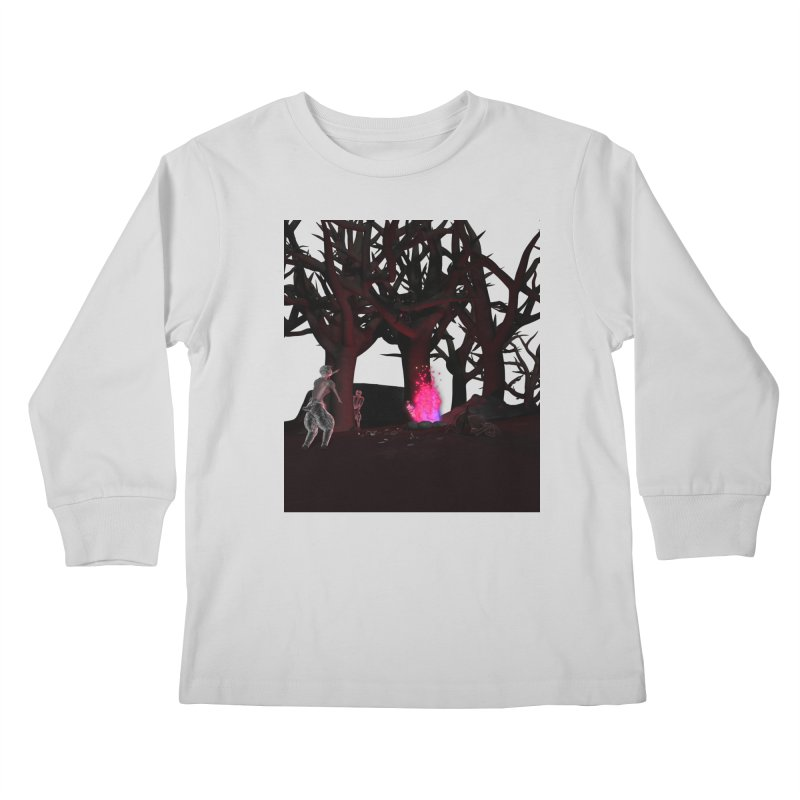 Of Dogs and Sheeps Kids Longsleeve T-Shirt by CIULLO CORPORATION's Artist Shop