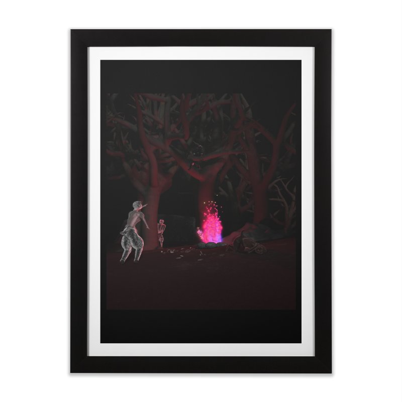 Of Dogs and Sheeps Home Framed Fine Art Print by CIULLO CORPORATION's Artist Shop