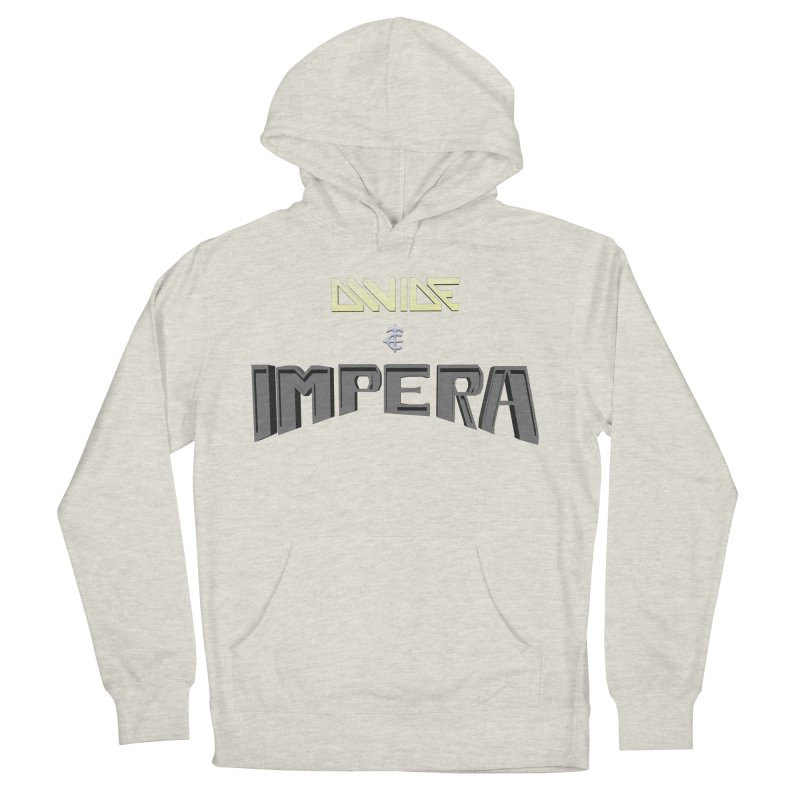 DIVIDE et IMPERA (Title) Women's Pullover Hoody by CIULLO CORPORATION's Artist Shop