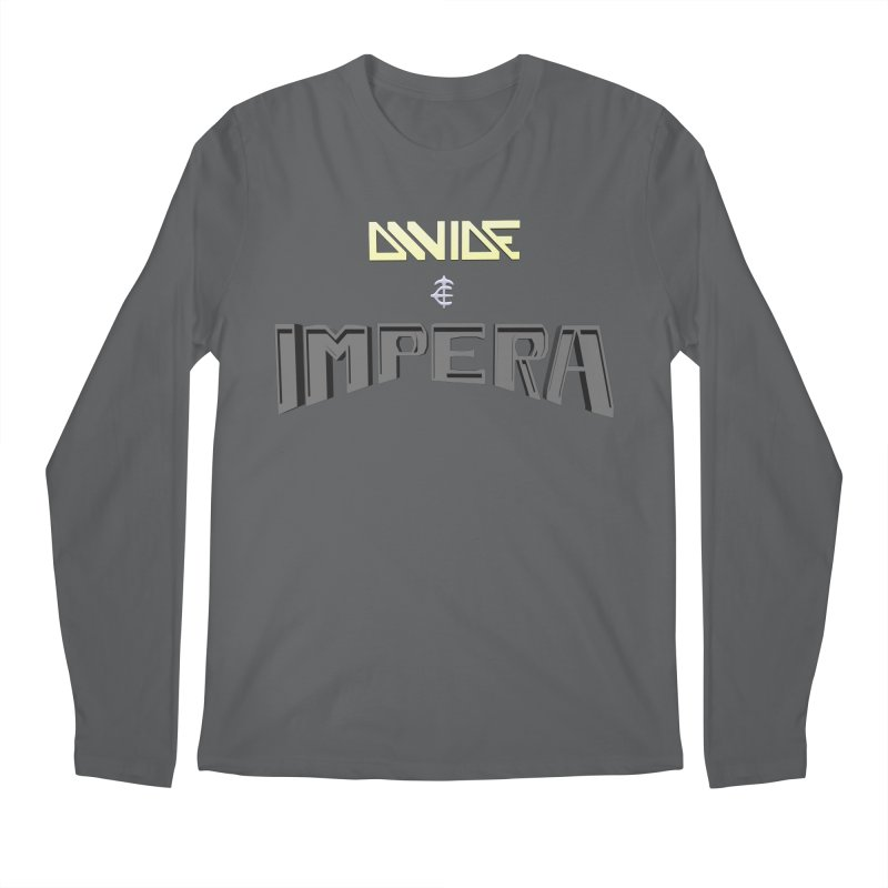 DIVIDE et IMPERA (Title) Men's Longsleeve T-Shirt by CIULLO CORPORATION's Artist Shop