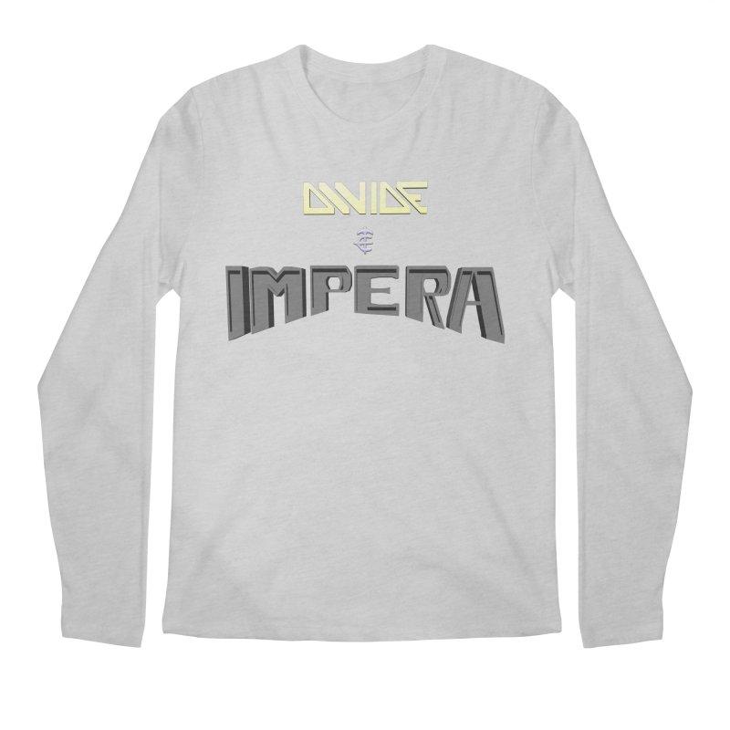 DIVIDE et IMPERA (Title) Men's Longsleeve T-Shirt by CIULLO CORPORATION's Artist Shop