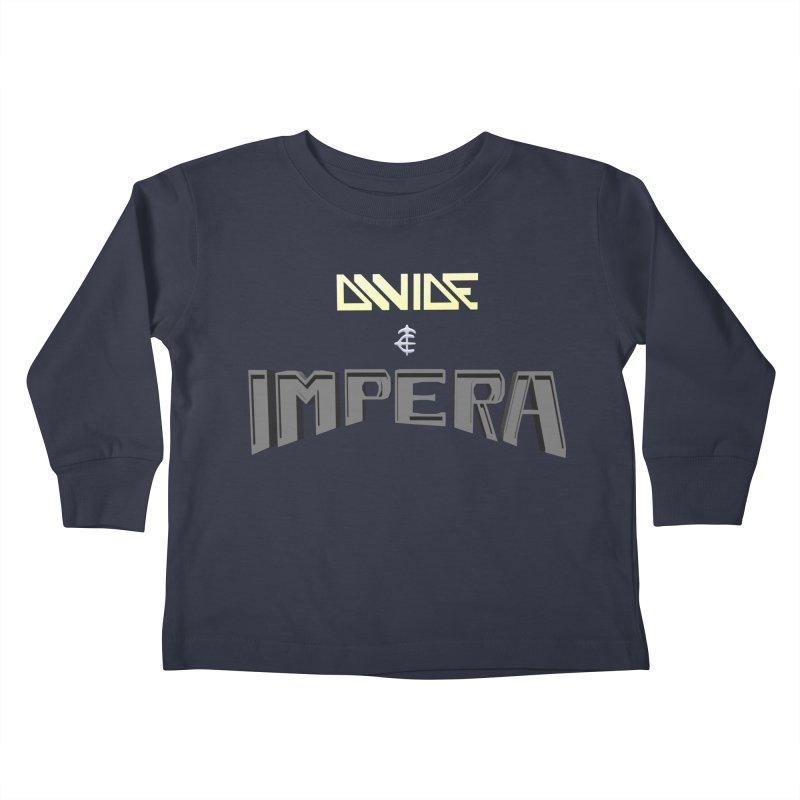 DIVIDE et IMPERA (Title) Kids Toddler Longsleeve T-Shirt by CIULLO CORPORATION's Artist Shop