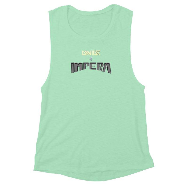 DIVIDE et IMPERA (Title) Women's Muscle Tank by CIULLO CORPORATION's Artist Shop