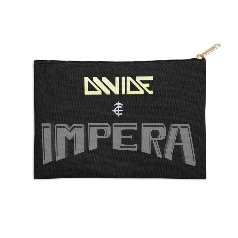 DIVIDE et IMPERA (Title) Accessories Zip Pouch by CIULLO CORPORATION's Artist Shop