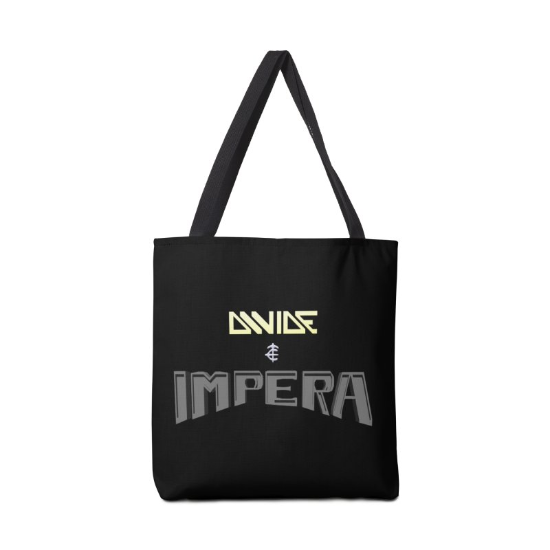 DIVIDE et IMPERA (Title) Accessories Bag by CIULLO CORPORATION's Artist Shop
