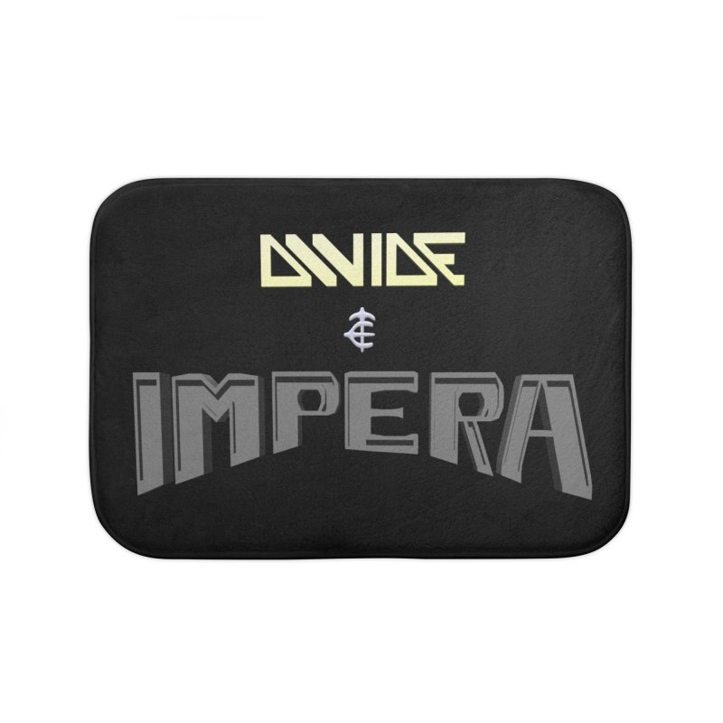 DIVIDE et IMPERA (Title) Home Bath Mat by CIULLO CORPORATION's Artist Shop