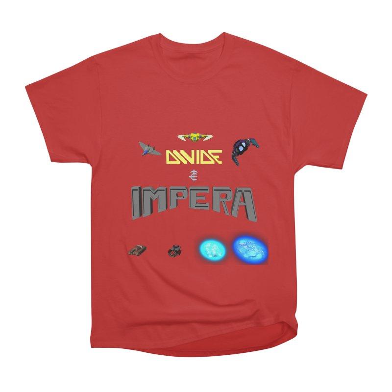 DIVIDE et IMPERA (Titled) Women's Classic Unisex T-Shirt by CIULLO CORPORATION's Artist Shop