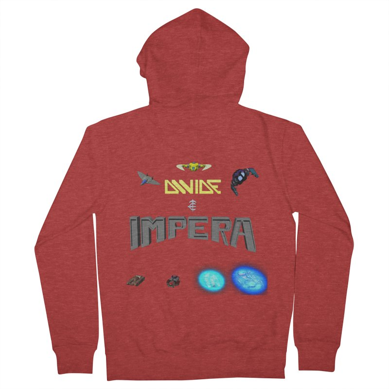 DIVIDE et IMPERA (Titled) Women's Zip-Up Hoody by CIULLO CORPORATION's Artist Shop