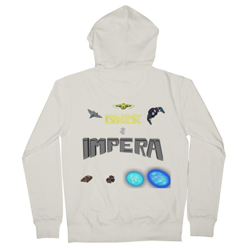 DIVIDE et IMPERA (Titled) Women's Zip-Up Hoody by CIULLO CORPORATION's Artist Shop