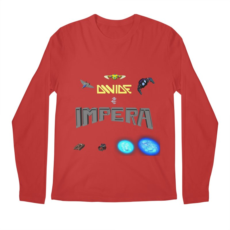 DIVIDE et IMPERA (Titled) Men's Longsleeve T-Shirt by CIULLO CORPORATION's Artist Shop