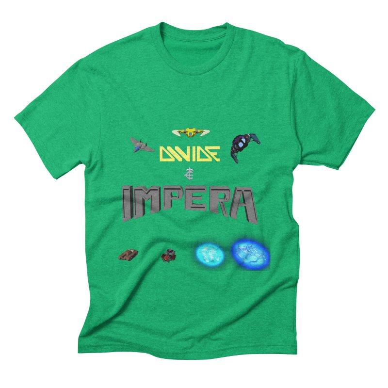 DIVIDE et IMPERA (Titled) Men's Triblend T-Shirt by CIULLO CORPORATION's Artist Shop