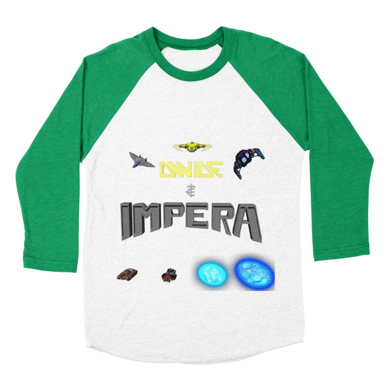 DIVIDE et IMPERA (Titled) Women's Baseball Triblend T-Shirt by CIULLO CORPORATION's Artist Shop