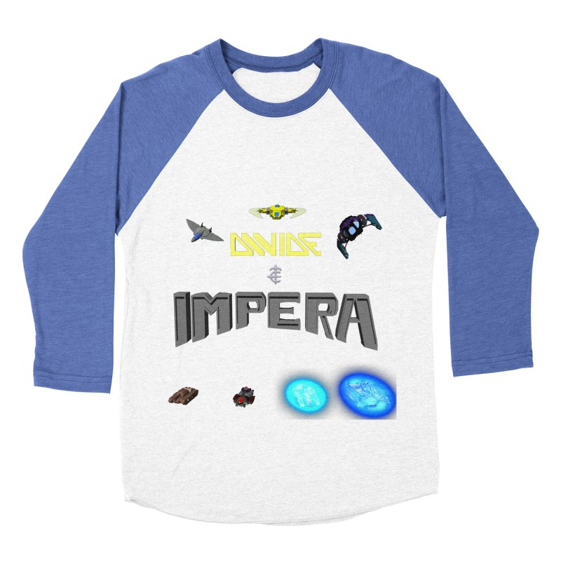 DIVIDE et IMPERA (Titled) Men's Baseball Triblend T-Shirt by CIULLO CORPORATION's Artist Shop