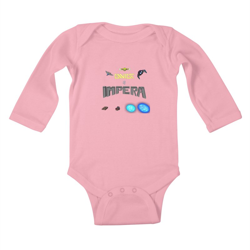 DIVIDE et IMPERA (Titled) Kids Baby Longsleeve Bodysuit by CIULLO CORPORATION's Artist Shop