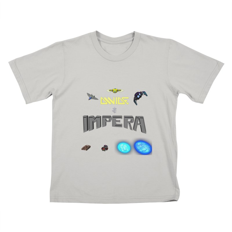 DIVIDE et IMPERA (Titled) Kids T-shirt by CIULLO CORPORATION's Artist Shop