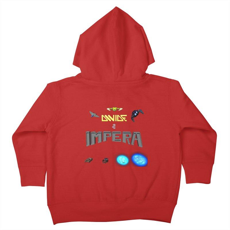 DIVIDE et IMPERA (Titled) Kids Toddler Zip-Up Hoody by CIULLO CORPORATION's Artist Shop