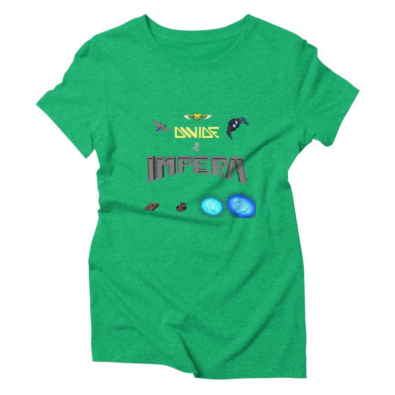 DIVIDE et IMPERA (Titled) Women's Triblend T-shirt by CIULLO CORPORATION's Artist Shop