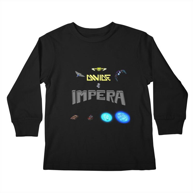 DIVIDE et IMPERA (Titled) Kids Longsleeve T-Shirt by CIULLO CORPORATION's Artist Shop