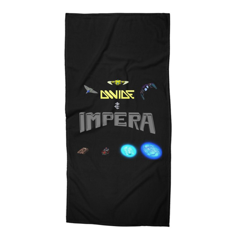 DIVIDE et IMPERA (Titled) Accessories Beach Towel by CIULLO CORPORATION's Artist Shop