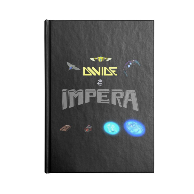 DIVIDE et IMPERA (Titled) Accessories Notebook by CIULLO CORPORATION's Artist Shop