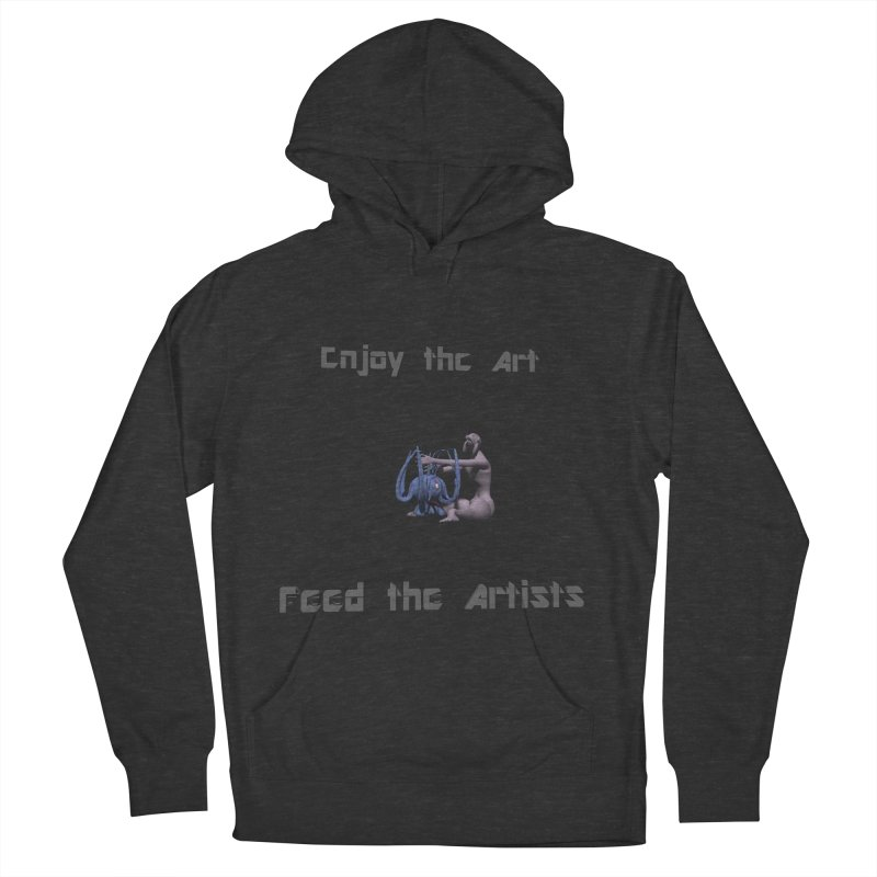 Feed the Artists (Chyrkyan) Women's Pullover Hoody by CIULLO CORPORATION's Artist Shop