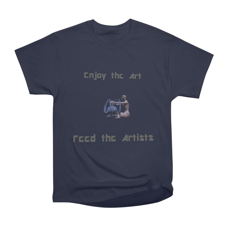 Feed the Artists (Chyrkyan) Women's Classic Unisex T-Shirt by CIULLO CORPORATION's Artist Shop
