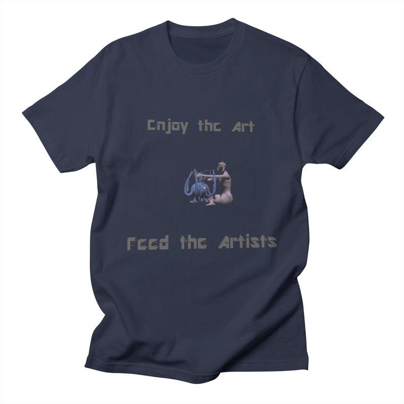 Feed the Artists (Chyrkyan) Women's Unisex T-Shirt by CIULLO CORPORATION's Artist Shop