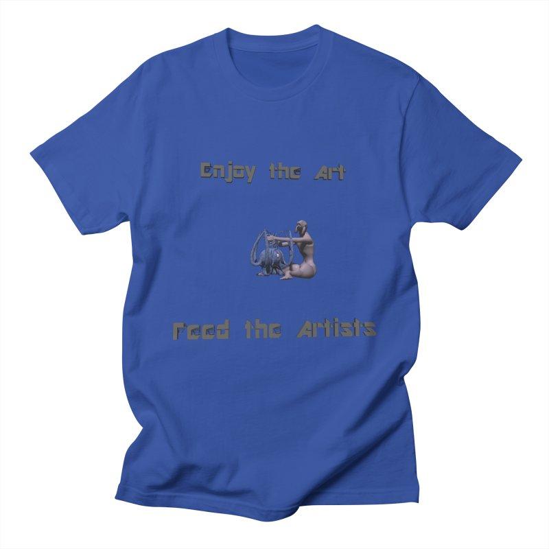 Feed the Artists (Chyrkyan) Men's T-Shirt by CIULLO CORPORATION's Artist Shop
