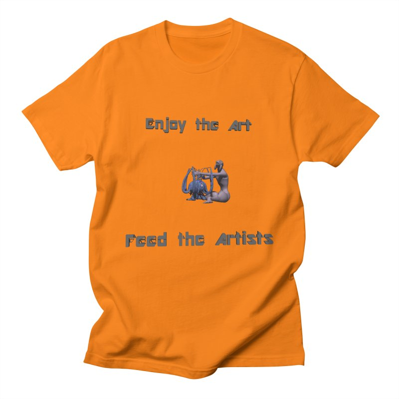 Feed the Artists (Chyrkyan) Women's Unisex T-Shirt by CIULLO CORPORATION's Artist Shop