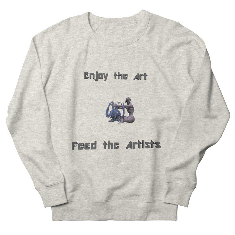 Feed the Artists (Chyrkyan) Men's Sweatshirt by CIULLO CORPORATION's Artist Shop