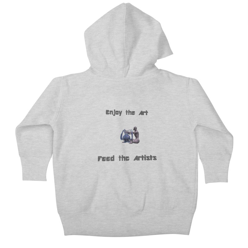 Feed the Artists (Chyrkyan) Kids Baby Zip-Up Hoody by CIULLO CORPORATION's Artist Shop