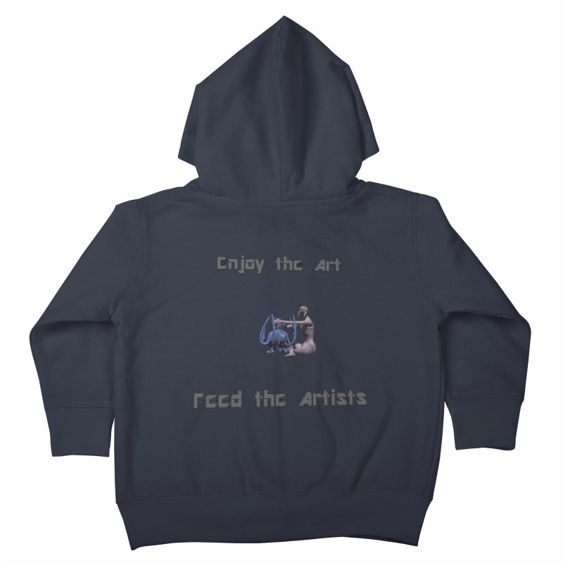 Feed the Artists (Chyrkyan) Kids Toddler Zip-Up Hoody by CIULLO CORPORATION's Artist Shop