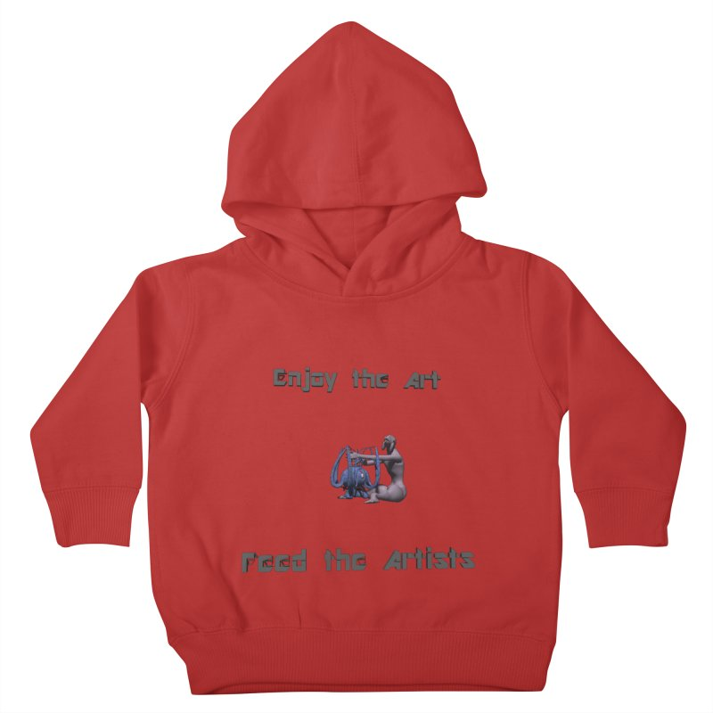 Feed the Artists (Chyrkyan) Kids Toddler Pullover Hoody by CIULLO CORPORATION's Artist Shop