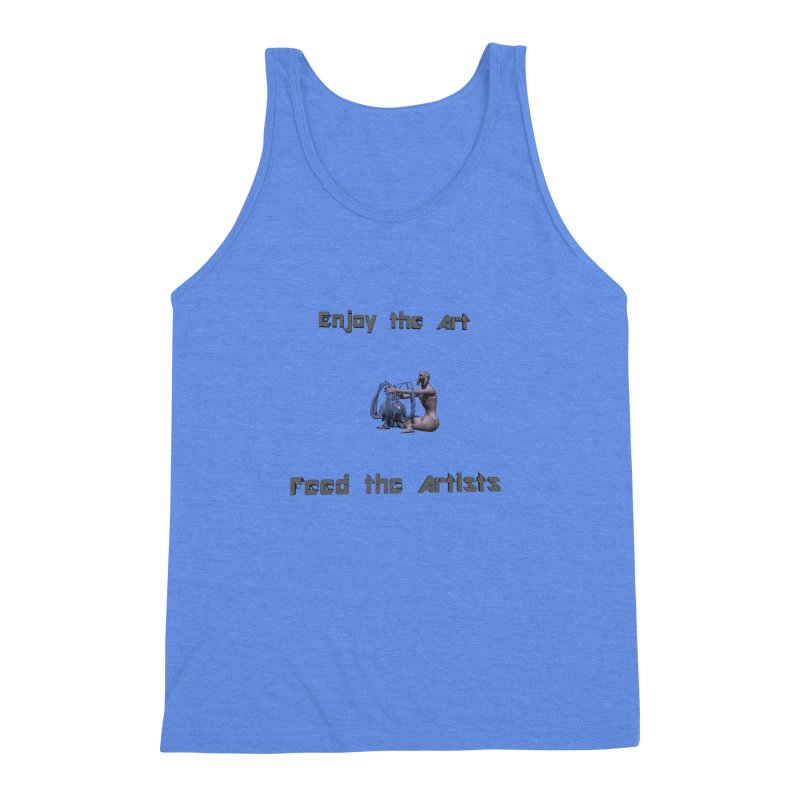 Feed the Artists (Chyrkyan) Men's Triblend Tank by CIULLO CORPORATION's Artist Shop