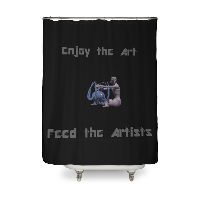 Feed the Artists (Chyrkyan) Home Shower Curtain by CIULLO CORPORATION's Artist Shop