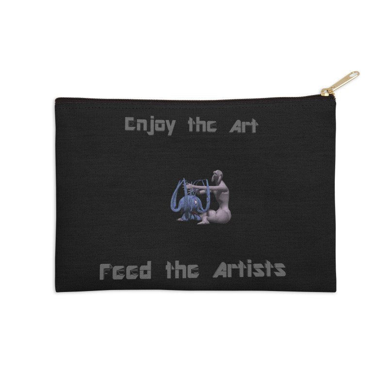 Feed the Artists (Chyrkyan) Accessories Zip Pouch by CIULLO CORPORATION's Artist Shop
